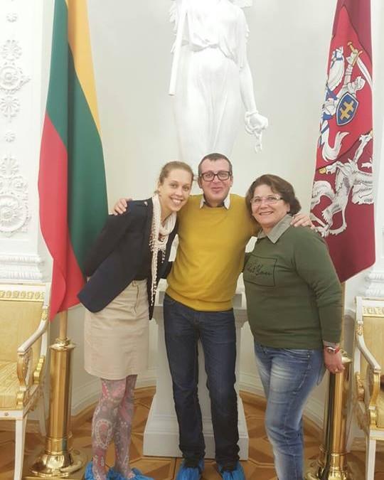 Visiting Presidental Palace