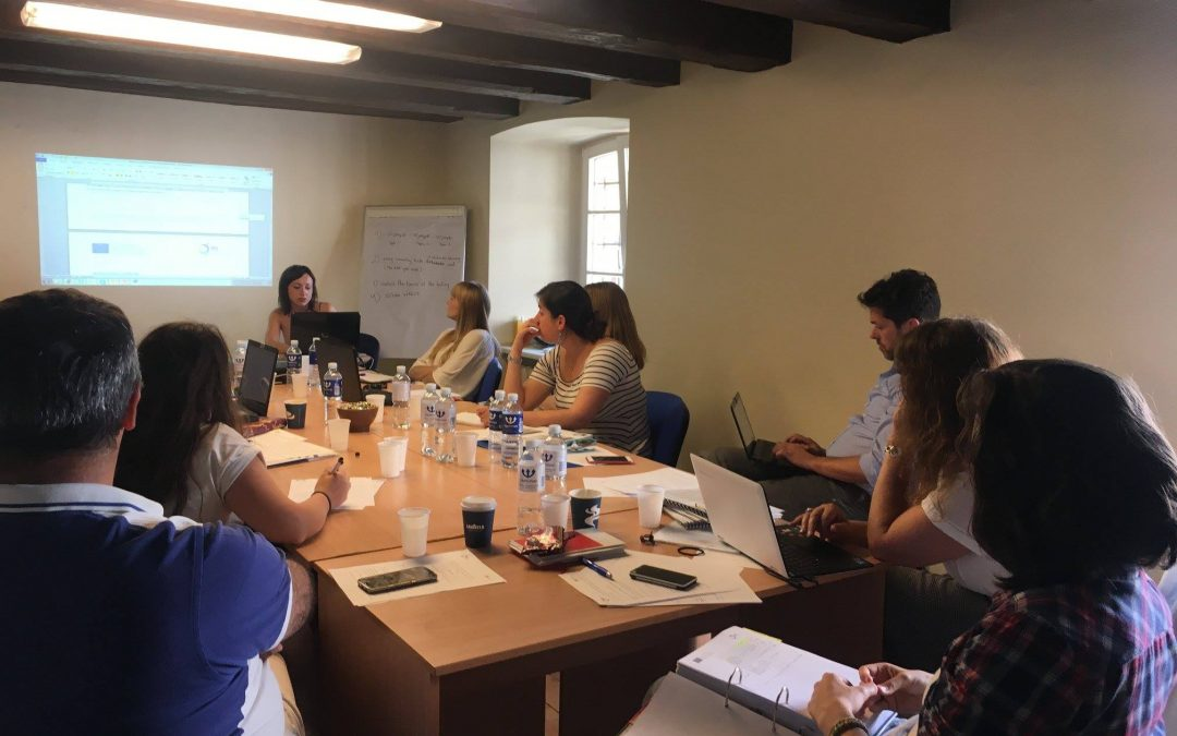 # ReINCLUSION transnational meeting in Vilnius, June 2018